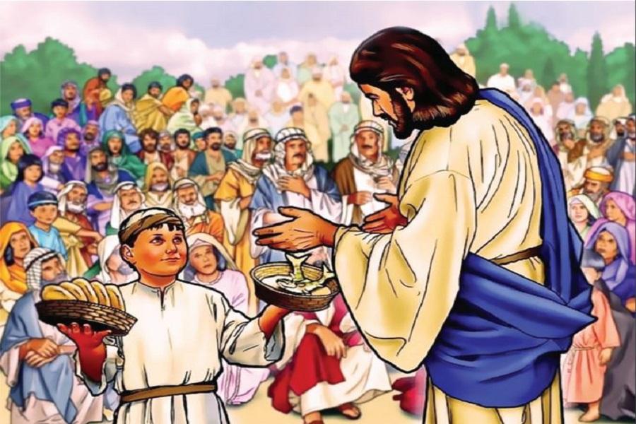 Lima Roti dan Dua Ikan Yoh.6:9
