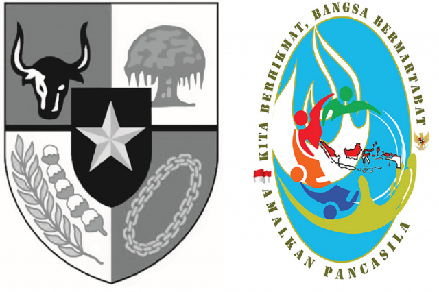 Amalkan Pancasila : KITA BERHIKMAT, BANGSA BERMARTABAT