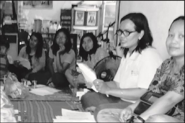 Serah Terima Jabatan Wanita Katolik Laurentius
