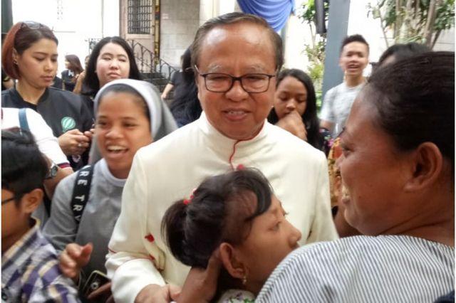 Misa ABK Anak Berkebutuhan Khusus bersama Bapa Uskup Ignatius Kardinal Suharyo
