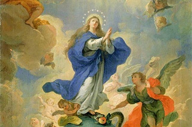 Maria Dimuliakan Segenap Tubuh dan Jiwa
