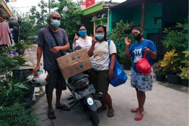 Kisah Cinta di Tengah Pandemi Lingkungan Gembala Baik
