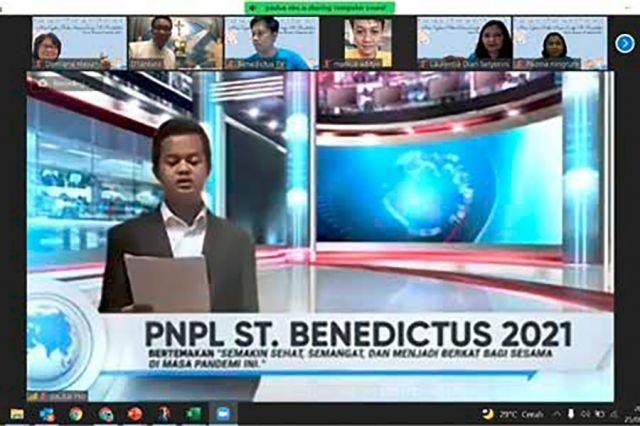 Perayaan Nama Pelindung Lingkungan St. Benediktus - Semakin sehat, semangat, dan menjadi berkat bagi sesama di masa pandemi