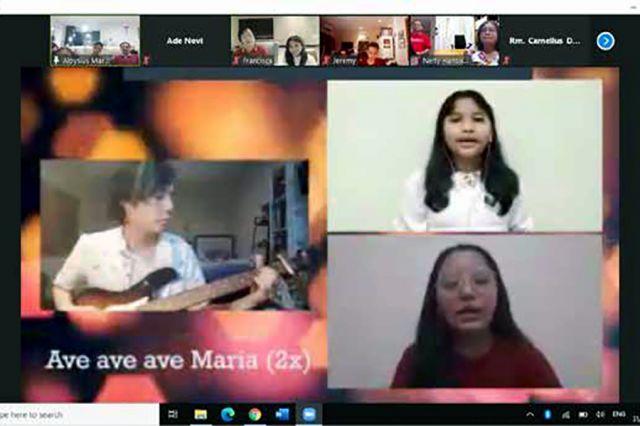 Rosario Merah Putih Bina Iman Anak dan Bina Iman Remaja Lingkungan St. Gabriel