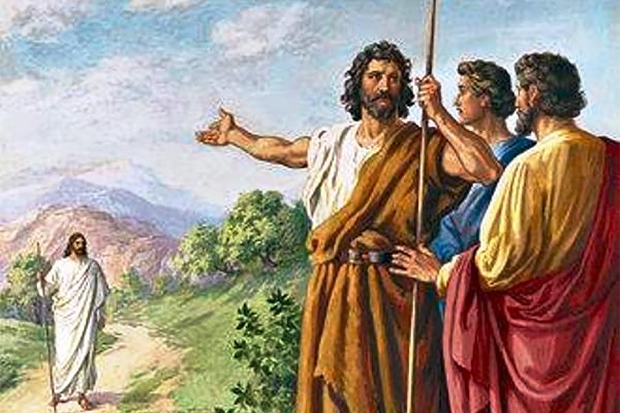 Yohanes Menunjuk Kepada Yesus